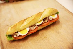 Sandwich club poulet