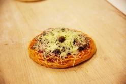 Pizza reine ronde